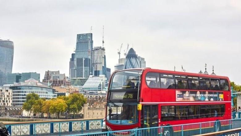 Bus di London Akan Gunakan Bahan Bakar dari Biji Kopi