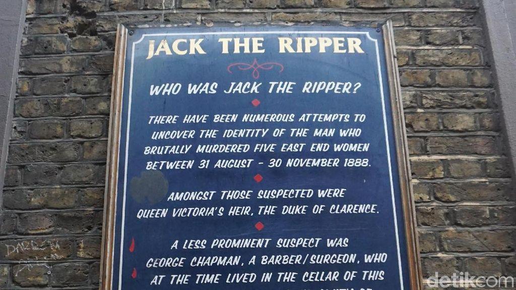 Foto: Menyusuri Lorong Pembunuh Brutal, Jack The Ripper