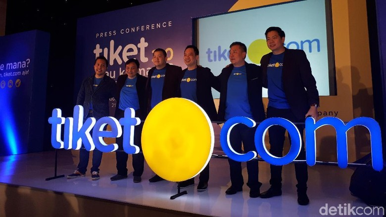 Foto: Launching logo baru Tiket.com (Shinta/detikTravel)