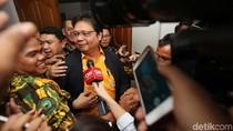 Airlangga Sudah Minta Izin Jokowi Jadi Caketum Golkar