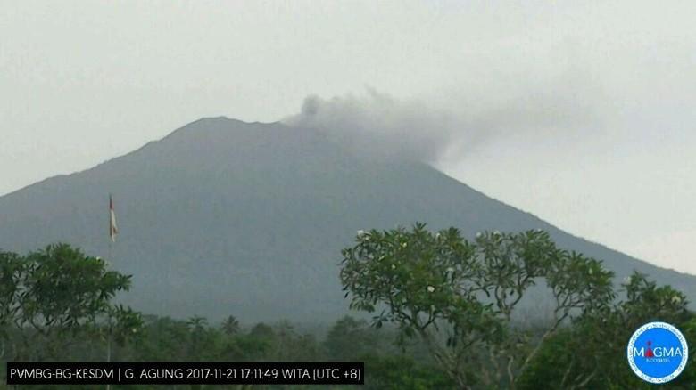 12 Dusun Diperkirakan Terdampak Erupsi Gunung Agung