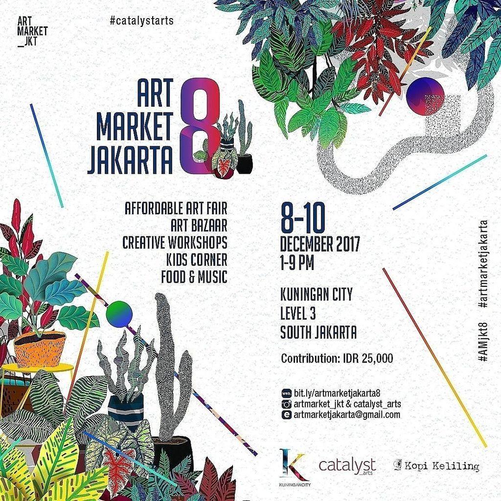 Puluhan Seniman Ramaikan Affordable Art Fair di Art Market Jakarta