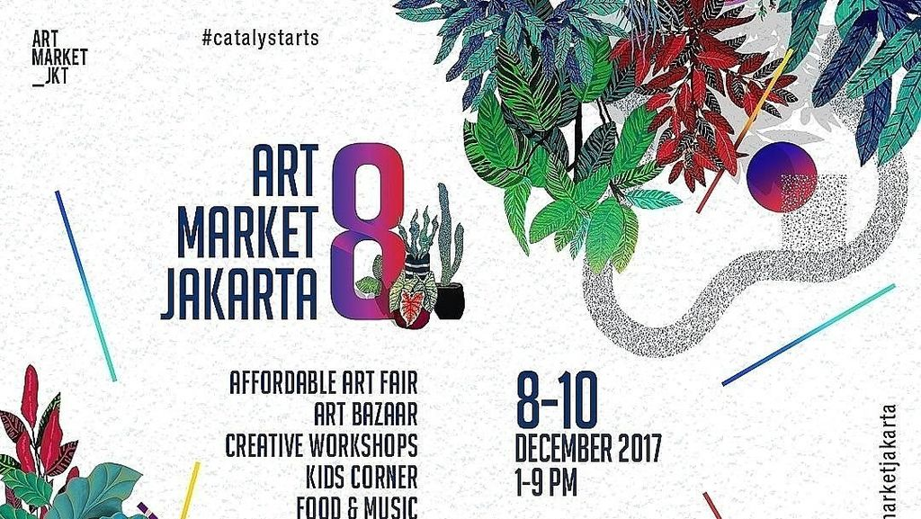 Art Market Jakarta 2017 Digelar 8-10 Desember