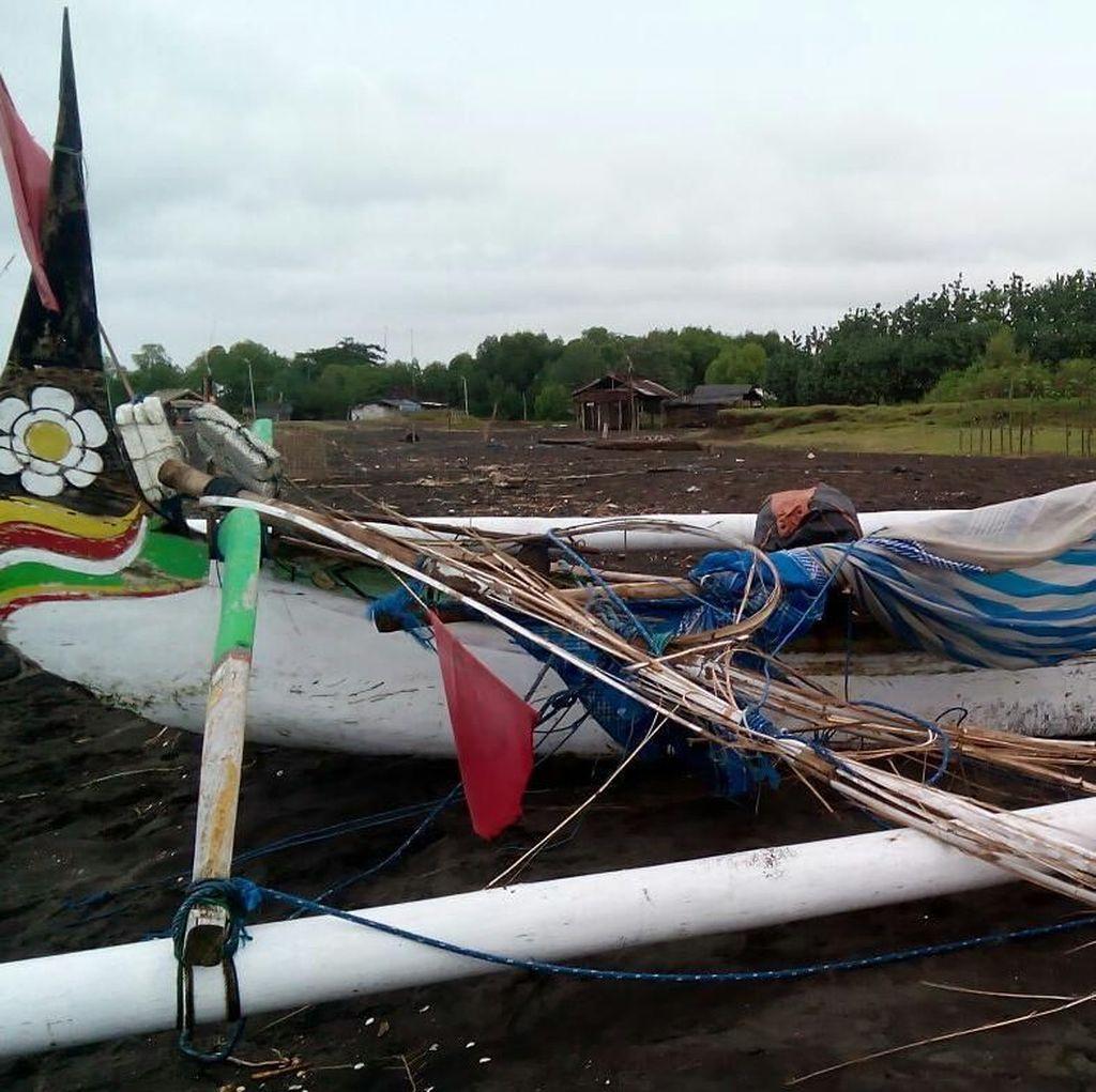 Nelayan Situbondo ini Nyaris Tewas Tersambar Petir saat Melaut