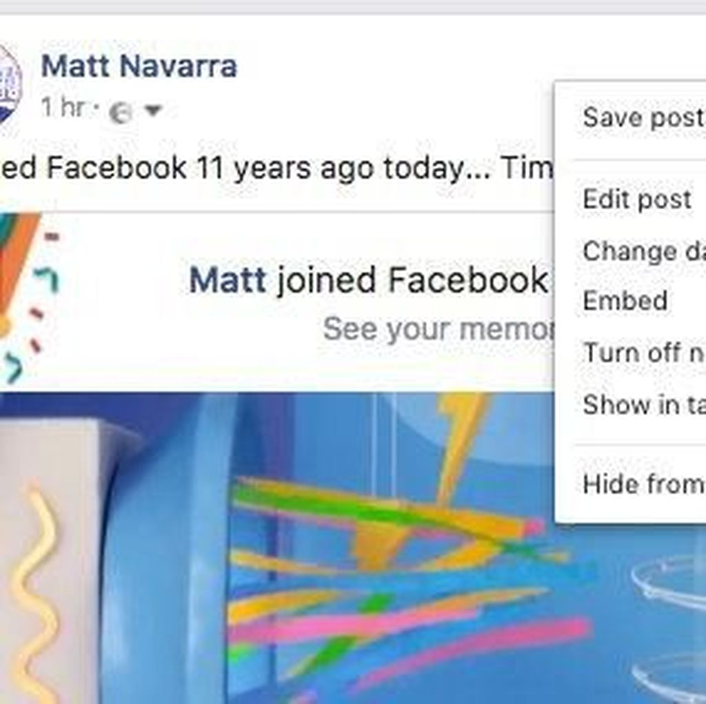 Jangan Harap Bisa Hapus Postingan Facebook di Browser