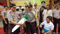 Polisi Bojonegoro Pengantar Anak Difabel Diganjar Penghargaan