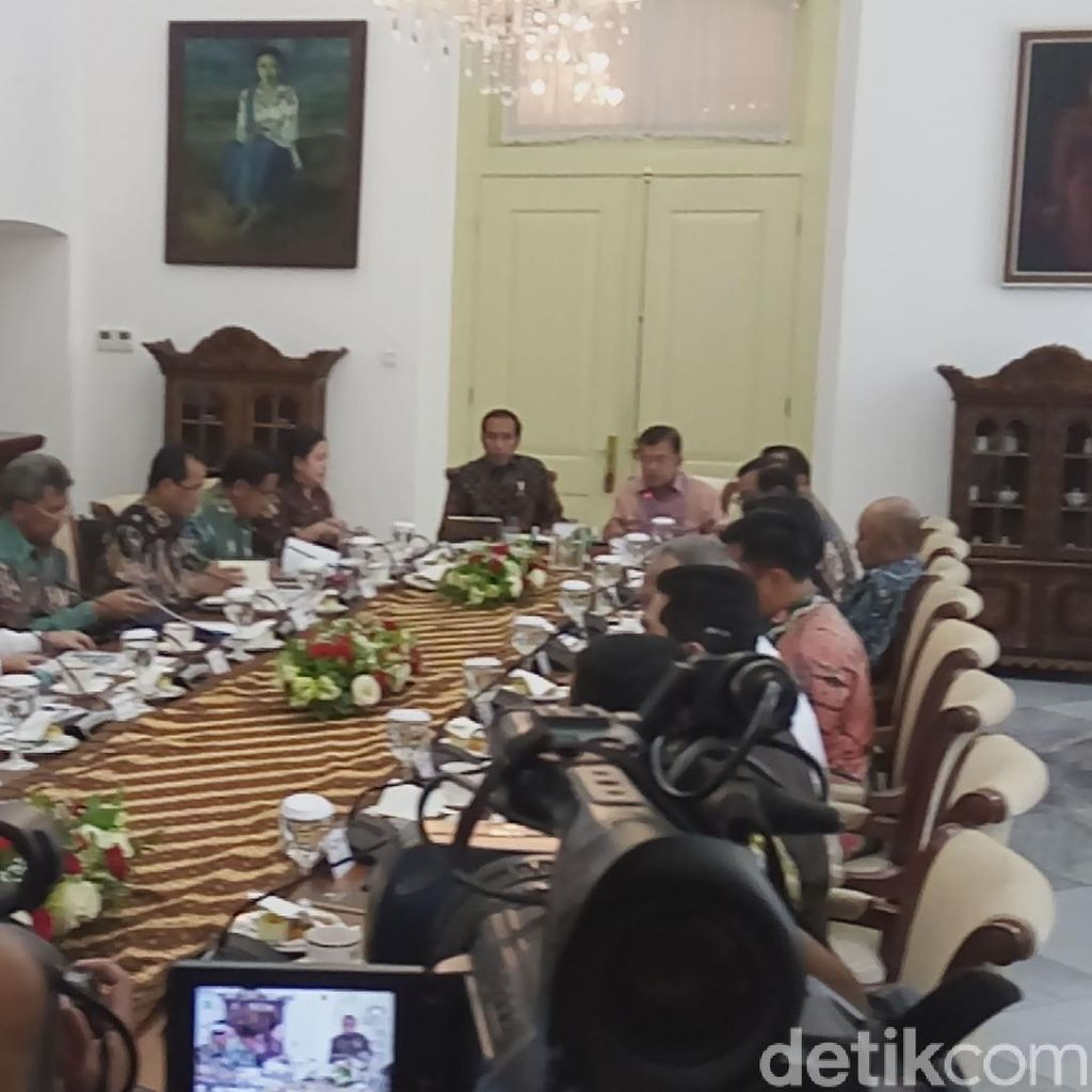 Jokowi Pimpin Ratas Asian Games 2018, Anies Baswedan Hadir