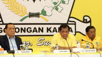 Nurdin Halid Pimpin Pleno Pasca Novanto Ditahan KPK
