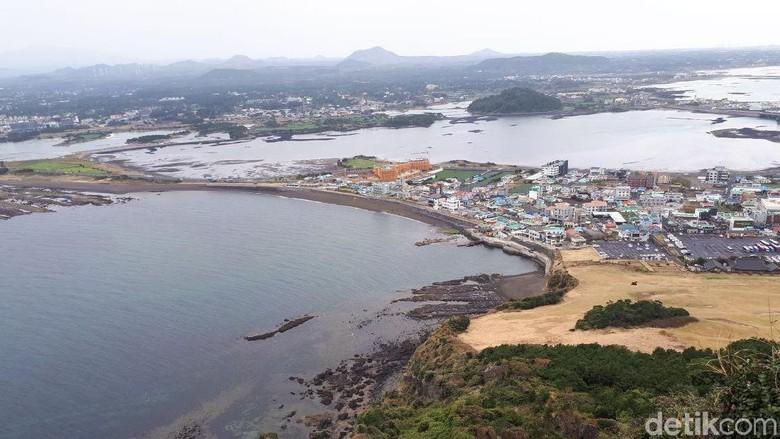 Foto: Pulau Jeju di Korsel (Delia Arnindita Larasati/detikTravel)