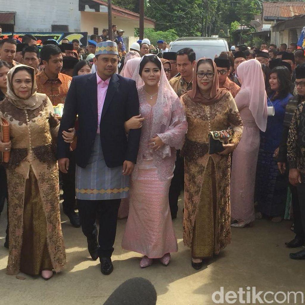 Kahiyang dan Bobby Usung Tema Pedesaan untuk Dekorasi Pernikahan di Medan