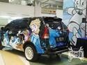 Toyota Avanza Frozen Show Off
