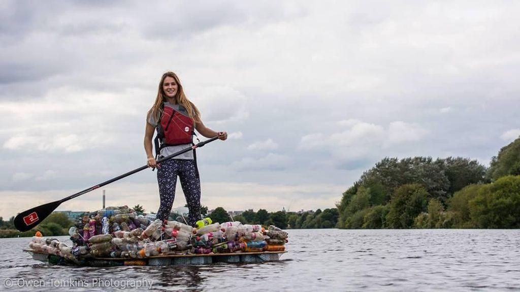 Sembuh dari Kanker, Wanita Ini Sukses Seberangi Selat Inggris Sendirian