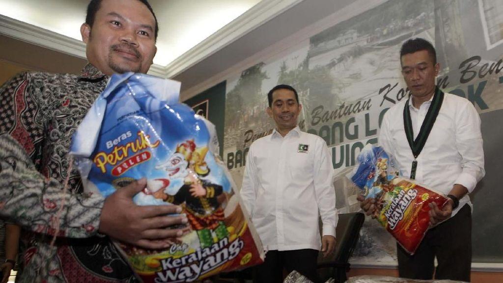 KAHMI Salurkan Bantuan untuk Korban Banjir Lombok