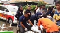 Razia Narkoba di Johar Baru, Polisi Temukan Senjata Tajam dan Sabu