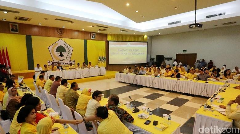 Nurdin akan Bacakan Surat Novanto, Pleno Golkar Kembali Dimulai