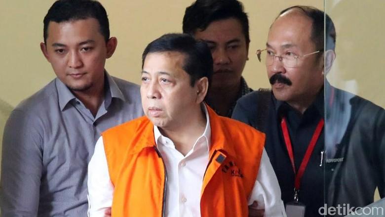 KPK Didorong Terapkan TPPU pada Setya Novanto