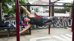 Mau punya tubuh sehat dan otot kekar? Nggak perlu fitness di gym, olahraga bareng komunitas Street Workout Depok (SWORD) saja. Gratis lho!