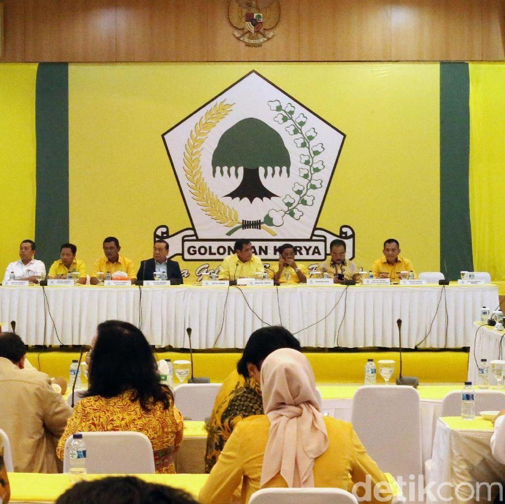 Siap Masuk Ronde 3, Rapat Pleno Golkar yang Alot Kembali Diskors