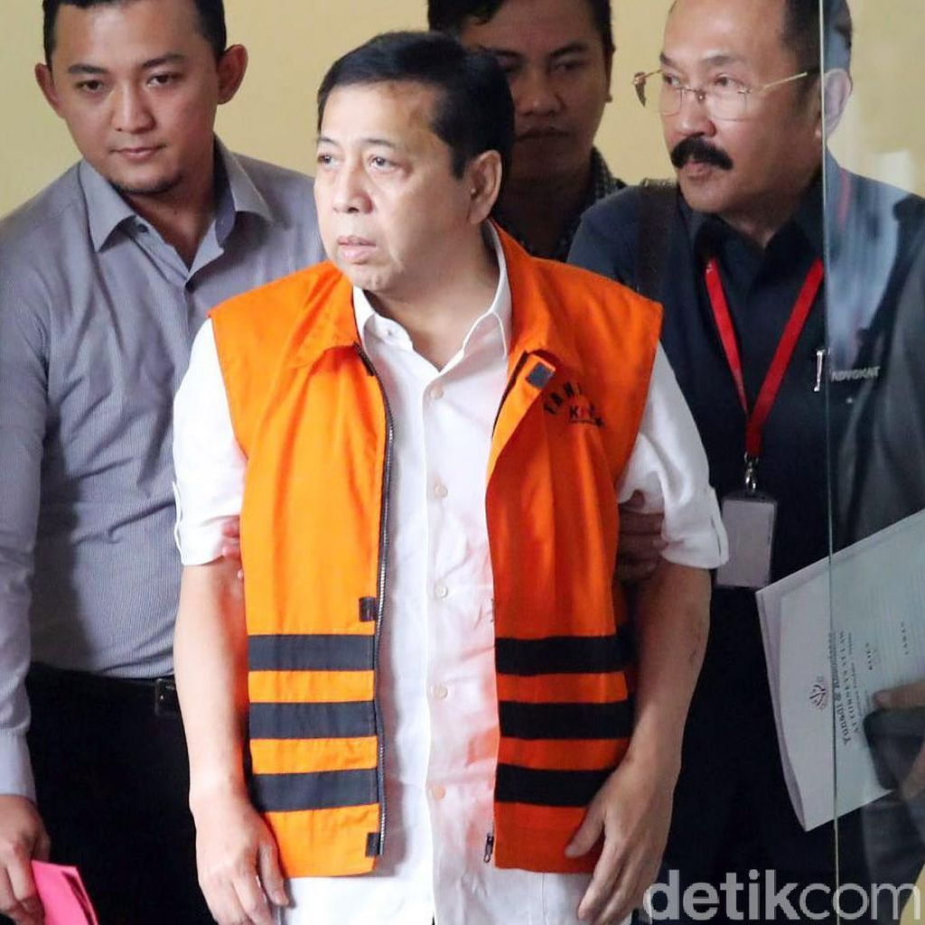 Polisi Periksa Setya Novanto soal Kecelakaan Fortuner Hari Ini