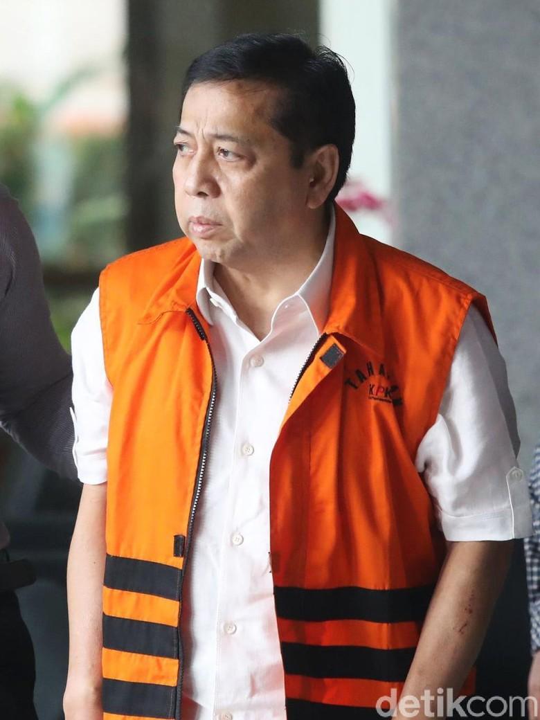 Berkas Setya Novanto Total Orang - Setya Novanto Jakarta KPK sudah merampungkan berkas perkara tersangka dugaan korupsi Setya Ada orang saksi yang diperiksa KPK