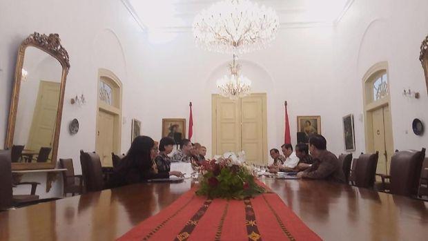 Pertemuan berlangsung secara tertutup.