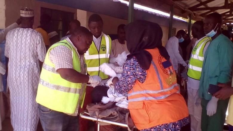 Bom Bunuh Diri di Masjid Nigeria Tewaskan 50 Orang