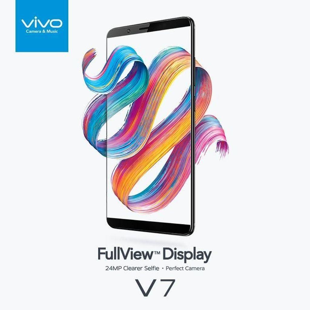 Vivo V7, Smartphone Kekinian untuk Para Gamer dan Penggemar Selfie