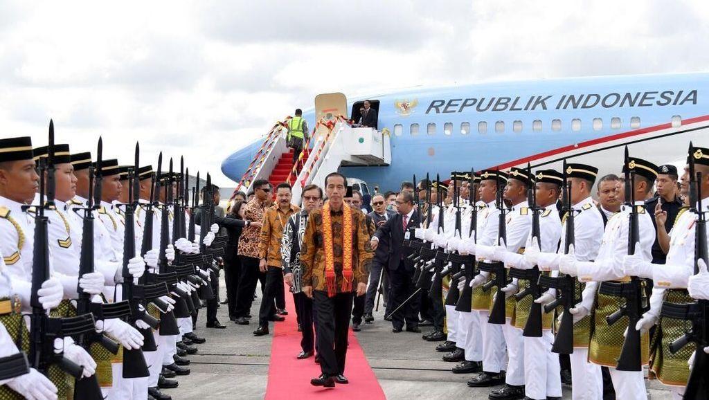 Jokowi Bujuk Malaysia Beri 20% Kuota Impor Beras untuk RI