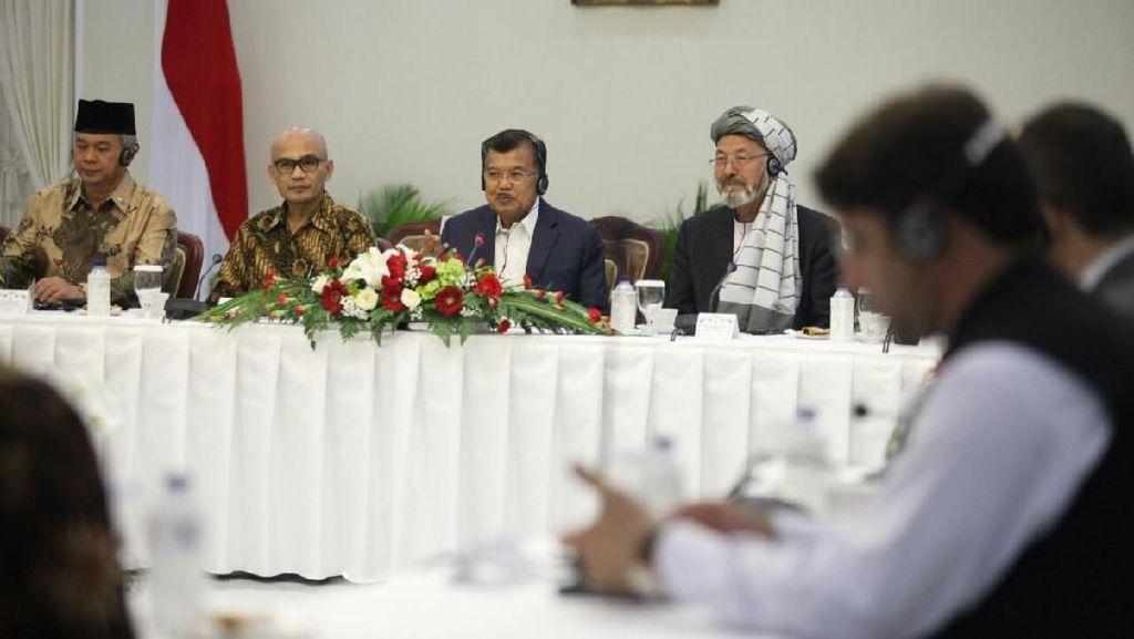 JK Pimpin Mediasi Perdamaian Afghanistan di Istana Wapres