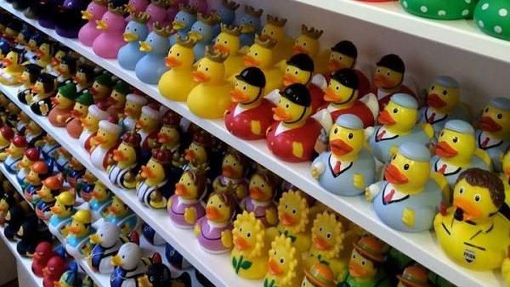 Penggemar Mainan Bebek Karet Harus ke Belanda, Ini Alasannya