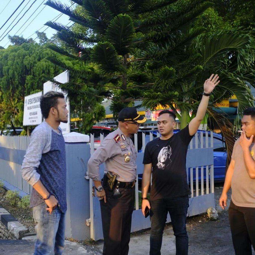 Todongkan Pistol ke Sipir, 2 Napi Kabur dari Lapas Pekanbaru