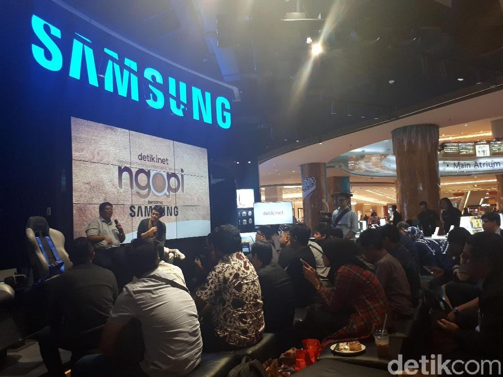 Serunya Ngulik Galaxy Note8 di Ngopi detikINET