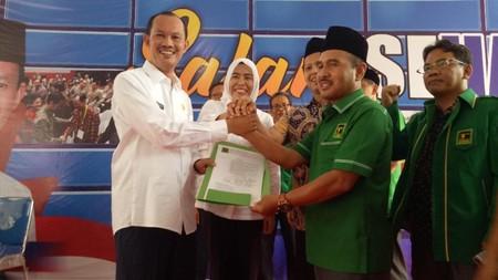 PPP Usung Pasangan Petahana Harno-Fitri untuk Pilwalkot Palembang