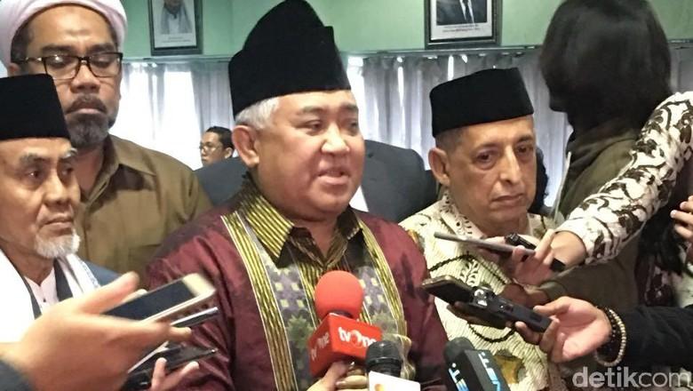 Tampik Prabowo, Din Syamsuddin: Insyaallah Indonesia Tak Bubar