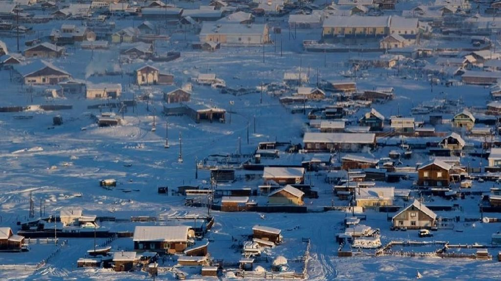Foto: Kota Terdingin di Bumi yang Dihuni Manusia