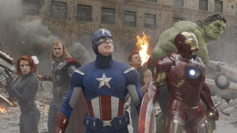Pose Para Avengers Ini Bikin Gemas!