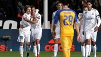 Mengamuk di Babak Pertama, Madrid Sementara Ungguli APOEL 4-0