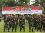 6.350 Personel Gabungan Amankan Kunjungan Jokowi di Medan