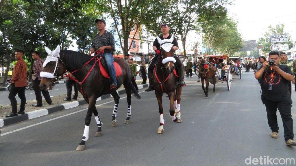 Tempuh 2 Km, Begini Rute Kirab Pernikahan Kahiyang-Bobby di Medan