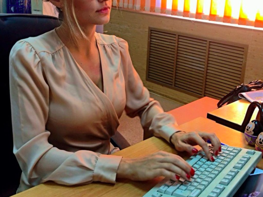 Jubir Seksi Kemenhan Rusia Hebohkan Netizen