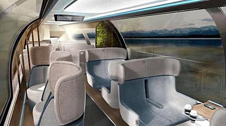 Desain kereta di masa depan (dok. Deutsch Bahn)