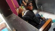 Ini Anak Punk yang Nyelonong Cari Novanto di Kantor Polisi