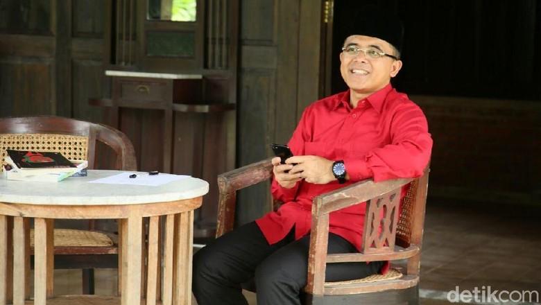 Anas Keliling Surabaya Hingga Malang Solidkan Kader Parpol Pendukung