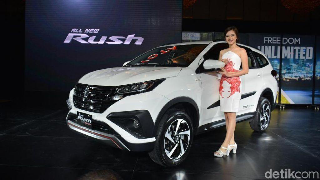 Toyota Targetkan Jual Rush 3.000 Unit per Bulan