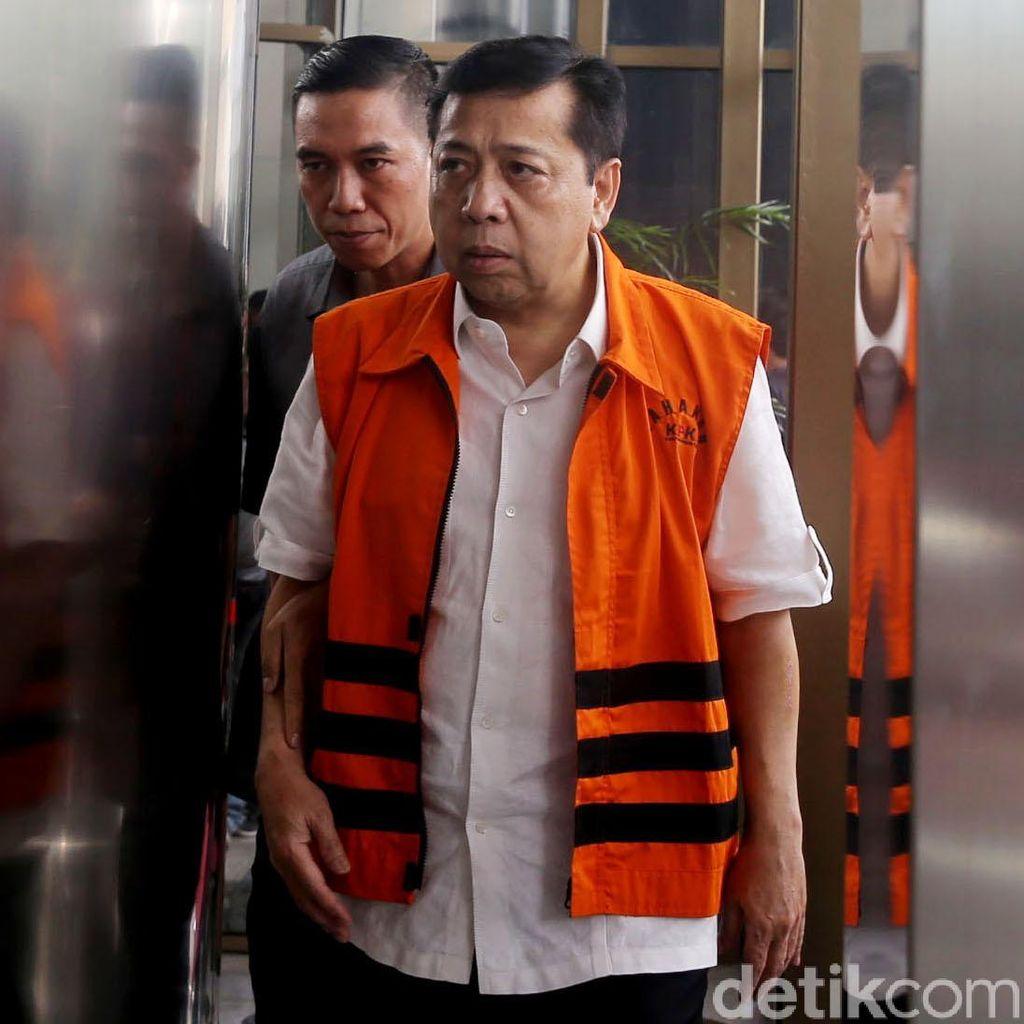 Mereka yang Dipanggil KPK Usai Novanto Ditahan, Termasuk Istri-Anak