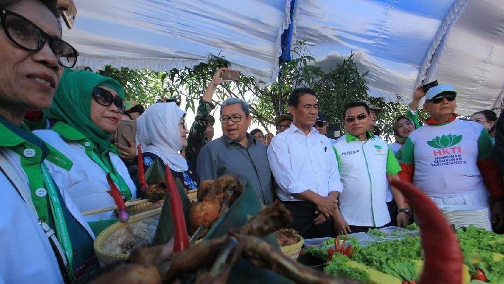 Cerita Mentan Dibantu Moeldoko Jalankan Perintah Sulit Jokowi