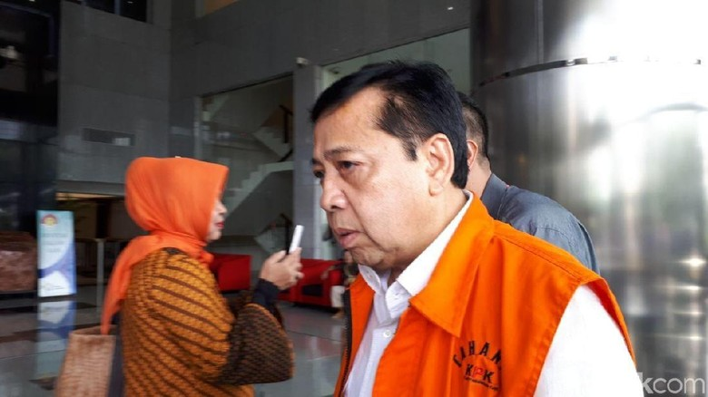 Usai Dijenguk Istri di Rutan, Setya Novanto Diperiksa KPK