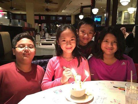 Keempat anak Eva