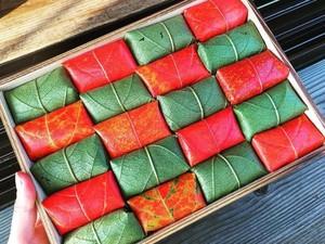 Tiap Musim Gugur, Toko Ini Sajikan Sushi dengan Bungkus Daun Persimmon yang Cantik!