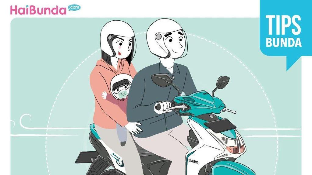 Tips Aman dan Nyaman Saat Naik Motor Bersama Anak